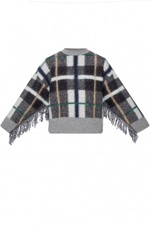 Checked sweater od Stella McCartney