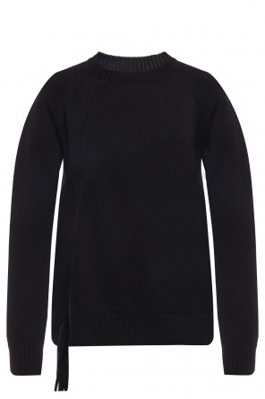 Wool sweater with drawstrings od McQ Alexander McQueen