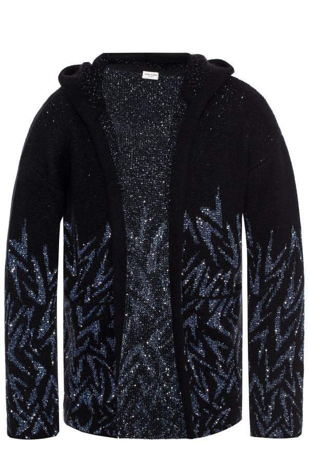 3379a05fa8ef1 Hooded cardigan Saint Laurent - Vitkac shop online