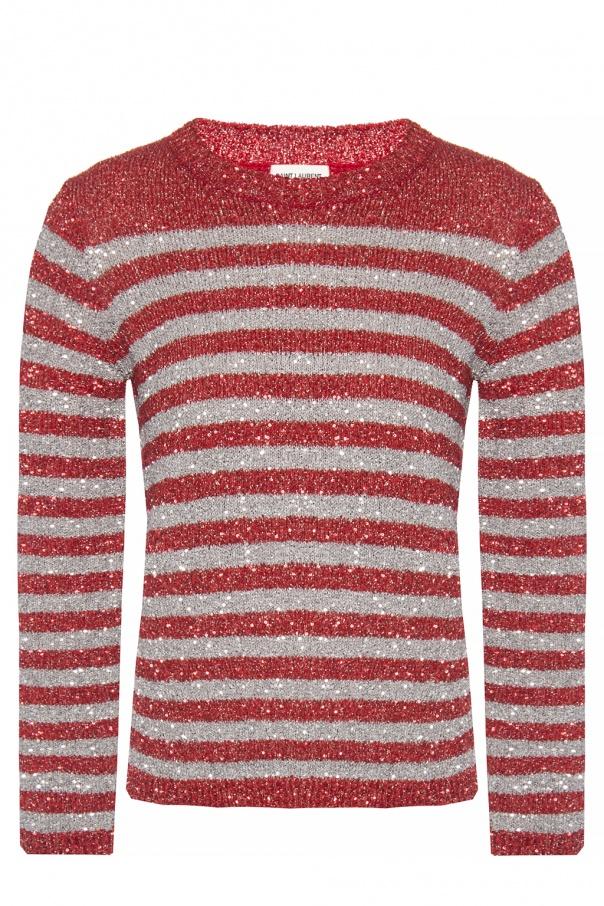 4d4a3e719fcfe Sequinned sweater Saint Laurent - Vitkac shop online