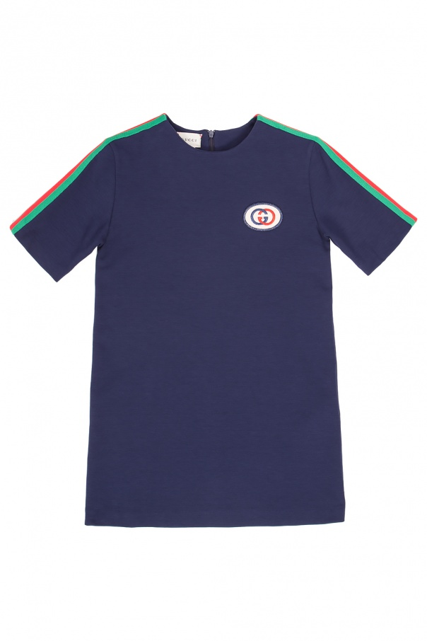 Gucci Kids Logo-patched T-shirt