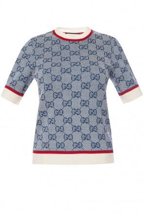 ca0b8963f Logo knit sweater od Gucci Logo knit sweater od Gucci quick-view ...
