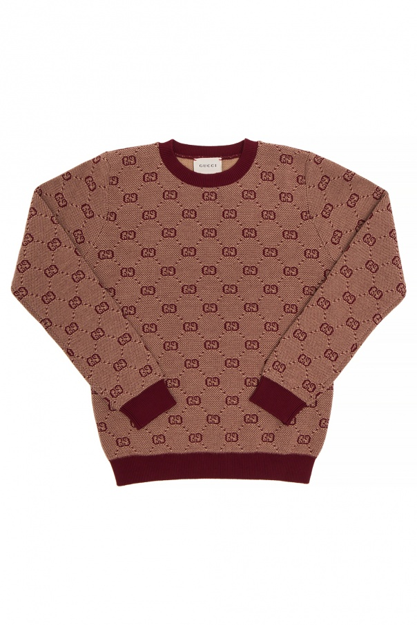 Gucci Kids Patterned sweater