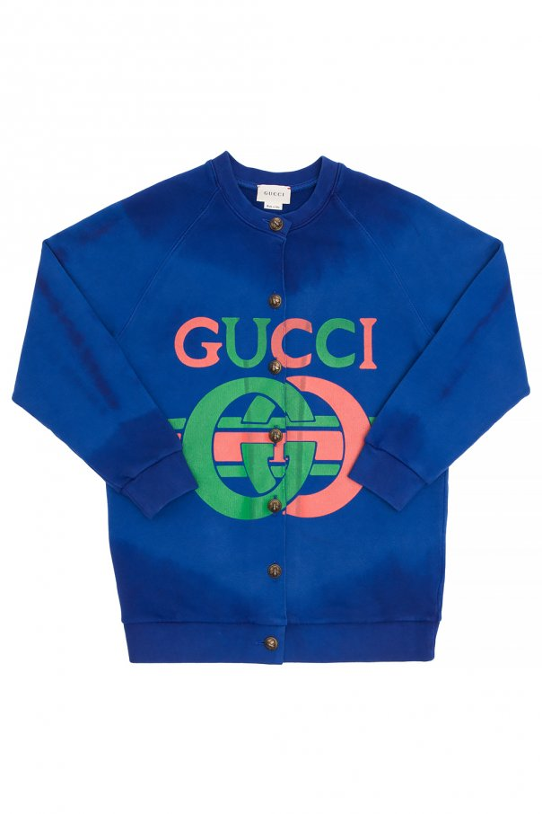 Gucci Kids Branded cardigan