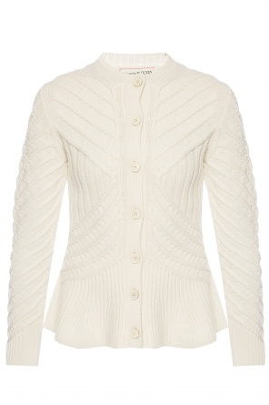 Embroidered cardigan od Alexander McQueen