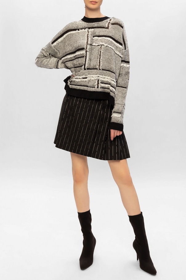 Patterned oversize sweater od McQ Alexander McQueen