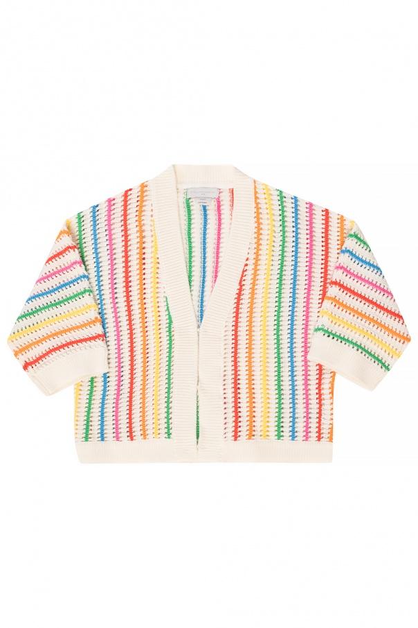 Stella McCartney Kids Striped cardigan