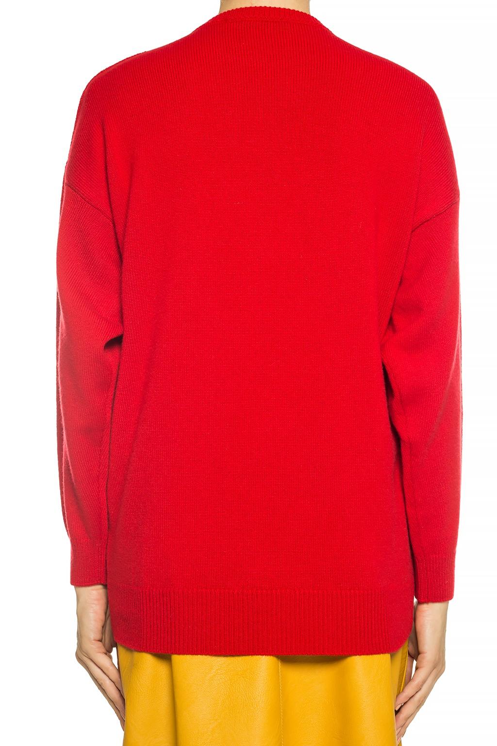 Balenciaga Sweter z logo