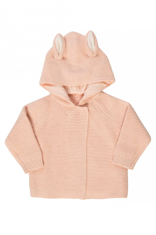 Stella McCartney Kids Hooded cardigan