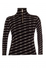Balenciaga Ribbed sweater with logo