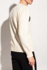 Alexander McQueen Pleciony sweter z logo