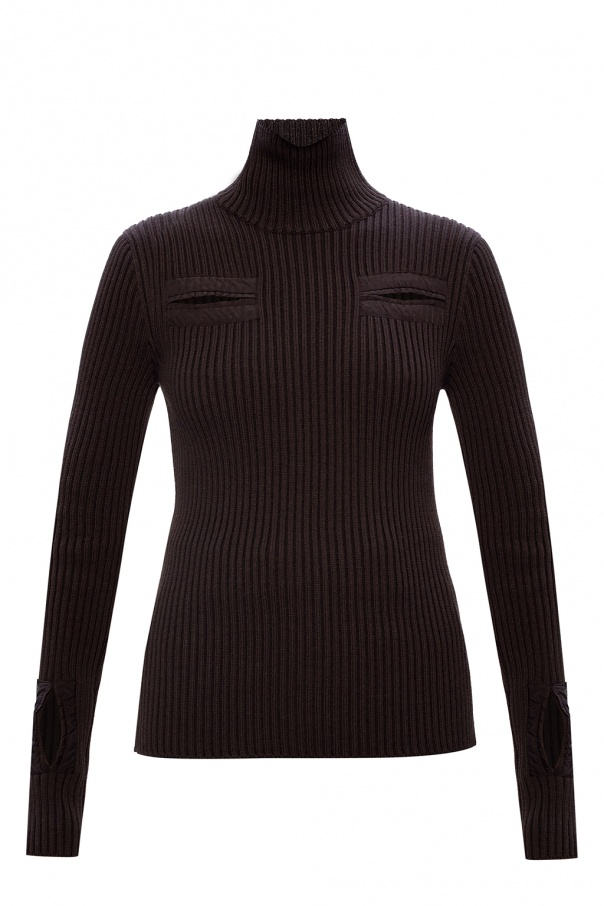 Bottega Veneta Ribbed turtleneck sweater