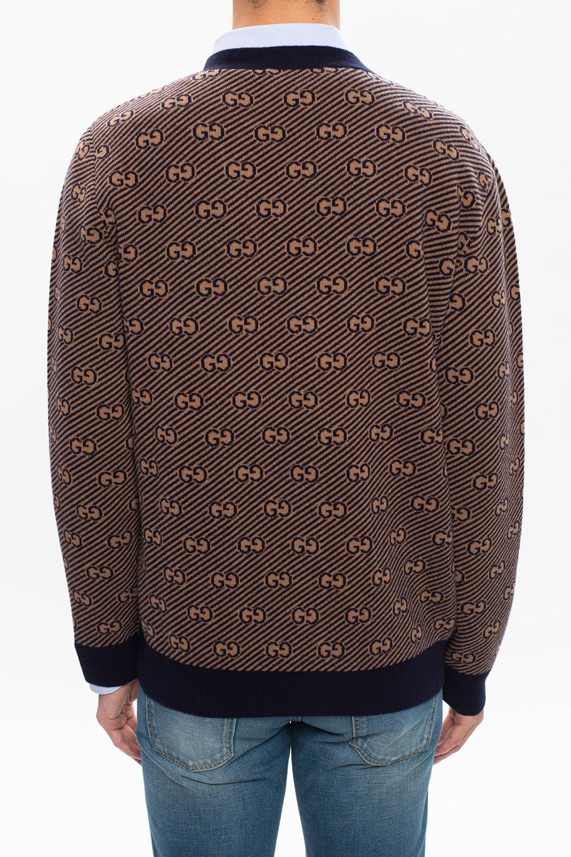 Gucci Logo cardigan
