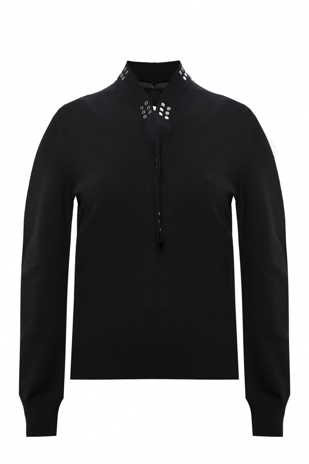 Bottega Veneta Sweater with distinctive closure