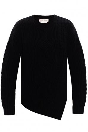 Rib-knit sweater od Alexander McQueen