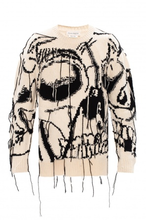 Wool sweater od Alexander McQueen
