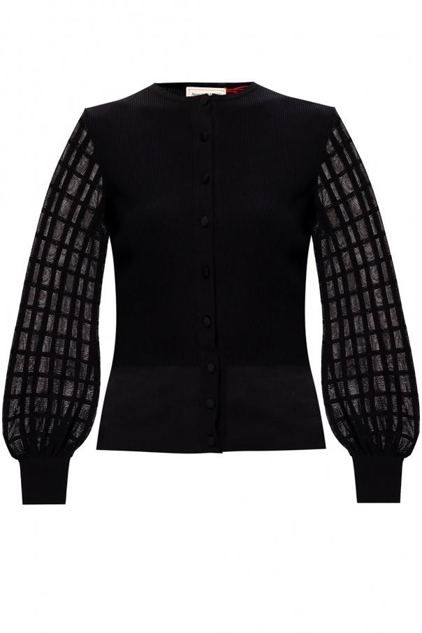 Alexander McQueen Rib-knit cardigan