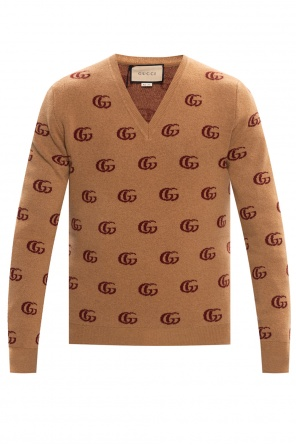 Wool sweater with logo od Gucci