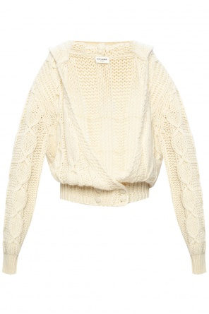 Wool cardigan od Saint Laurent