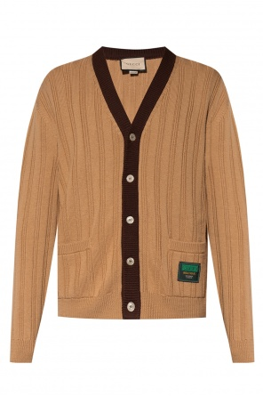Ribbed cardigan od Gucci
