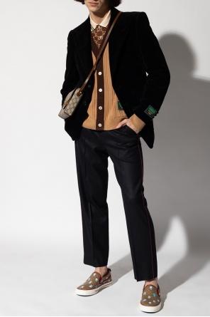 Ribbed cardigan od Gucci