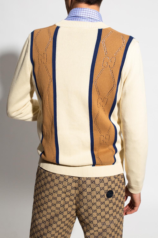 Gucci Kardigan z logo