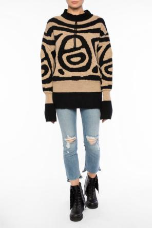 Patterned sweater od Vivienne Westwood