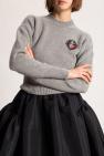 Alexander McQueen Appliquéd sweater
