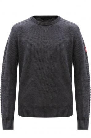 'paterson' wool sweater od Canada Goose