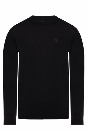 Embroidered sweater od Emporio Armani