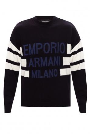 Logo sweater od Emporio Armani