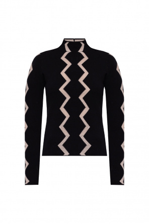 Sweater with stitching details od Emporio Armani