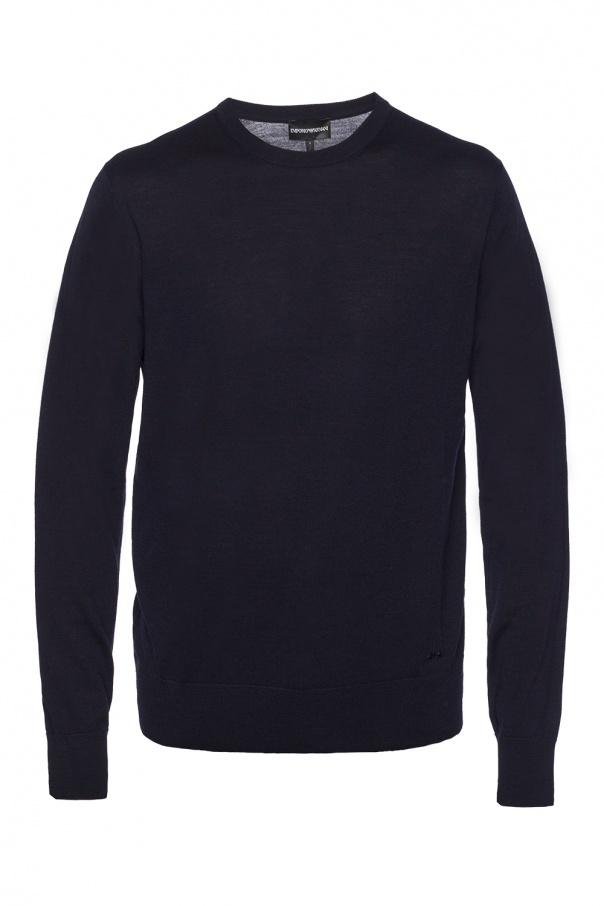 crewneck sweater emporio armani vitkac shop online. Black Bedroom Furniture Sets. Home Design Ideas