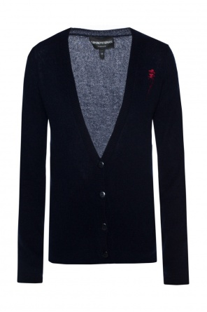 Embroidered cardigan od Emporio Armani