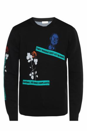 Embroidered sweater od Dior