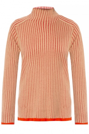 Ruffled turtleneck sweater od Burberry