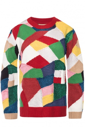 Embroidered sweater od Burberry