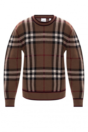 Patterned sweater od Burberry