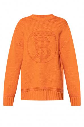 Sweater with logo od Burberry