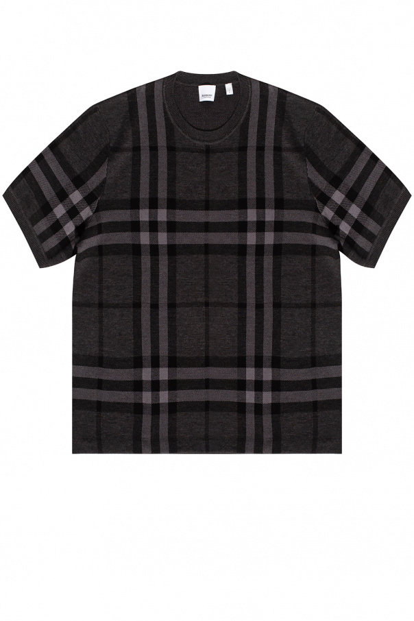 Burberry Sweater with short sleeves