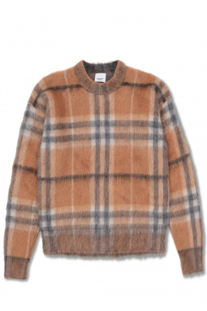Checked sweater od Burberry