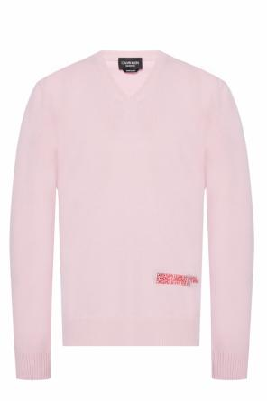 Sweater with embroidered logo od Calvin Klein