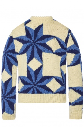 Sweater with an embroidered pattern od Calvin Klein