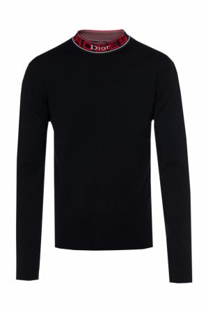 Band collar sweater od Dior