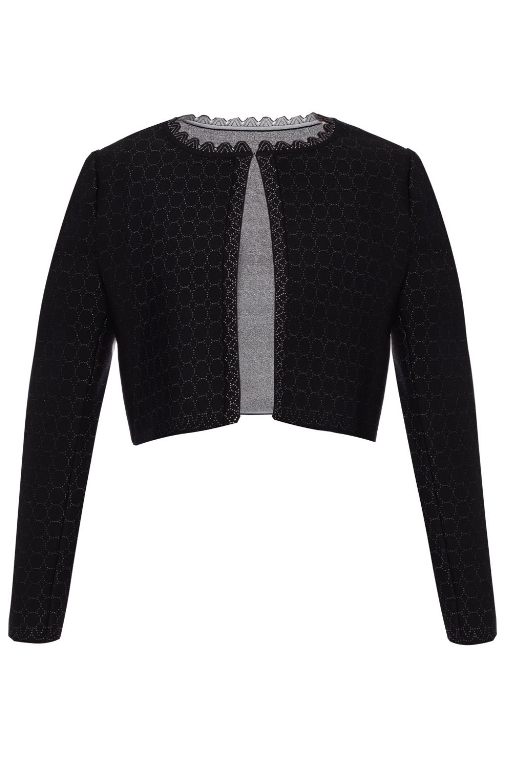 Alaia Embroidered cardigan