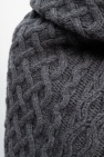 Michael Kors Cashmere scarf with sweater motif