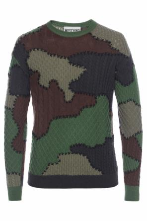 Patterned sweater od Moschino