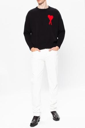 Sweater with logo od Ami Alexandre Mattiussi