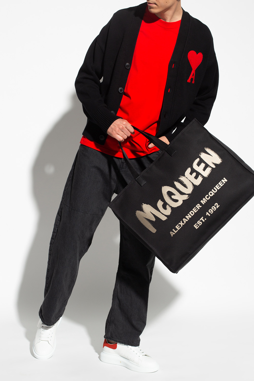 Ami Alexandre Mattiussi Kardigan z logo