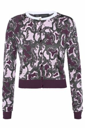 Patterned cardigan od Versace